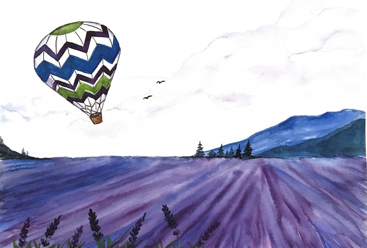 Hot Air Balloon - student project