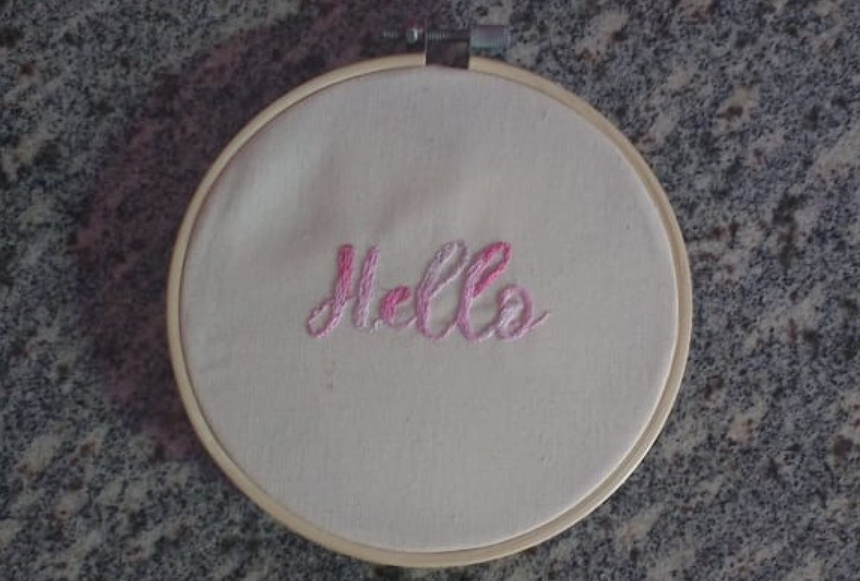 my 'Hello' - student project