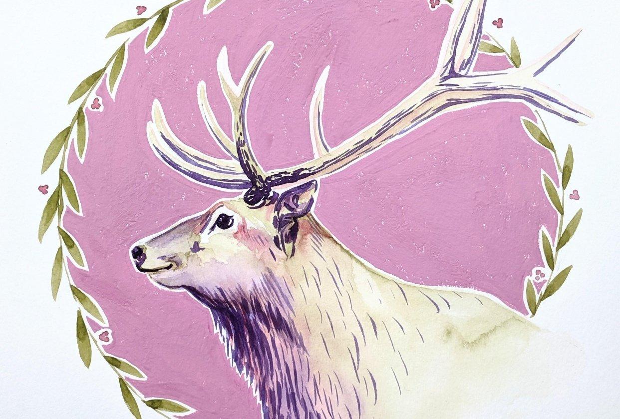 Festive Elk - student project