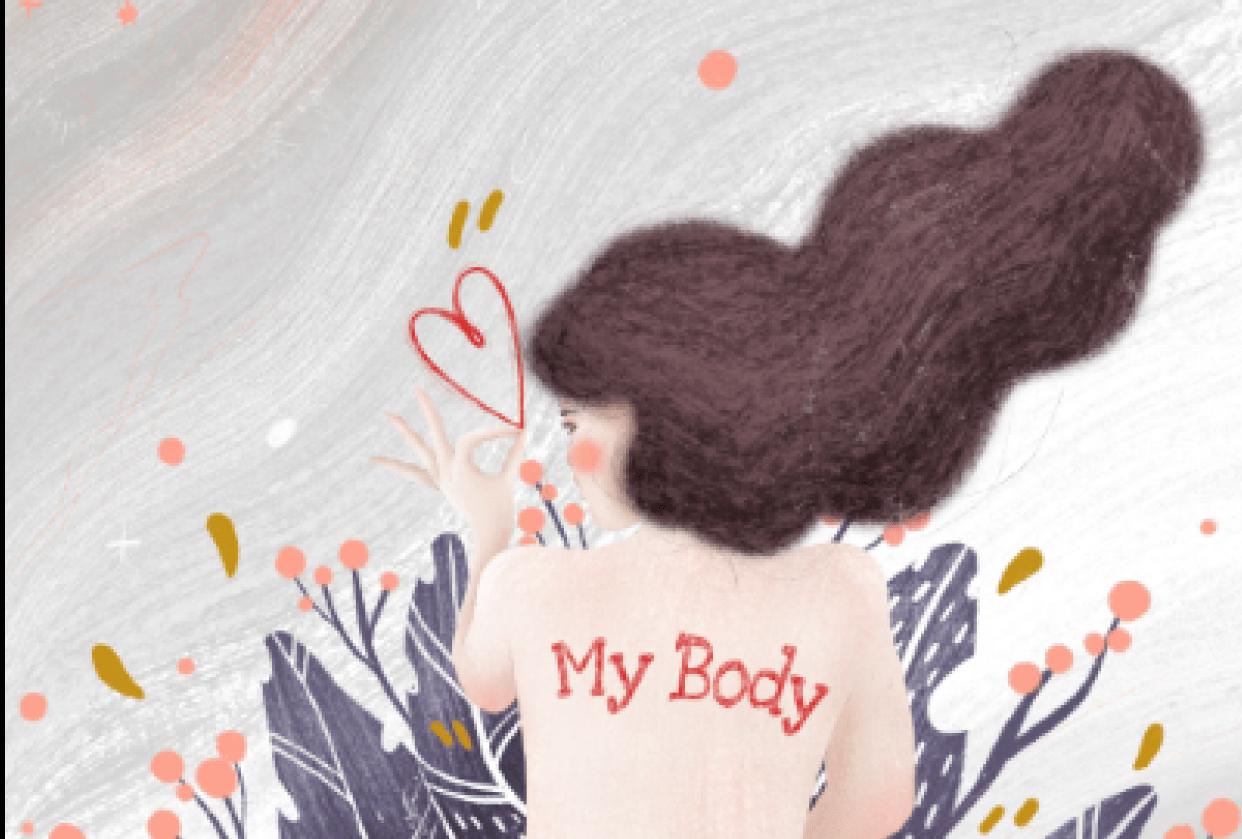 MY BODY, Powerful Women Illustration - student project