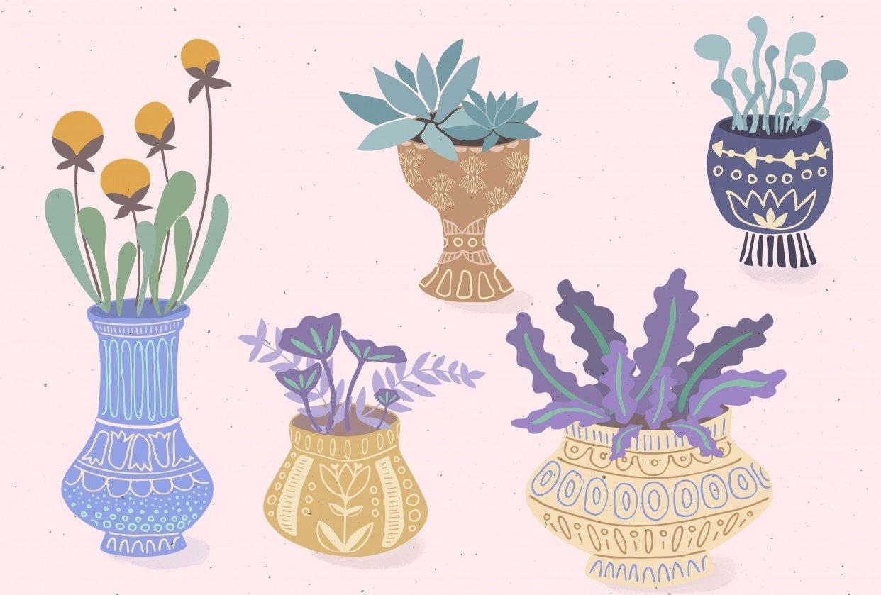 Flores y Macetas - student project
