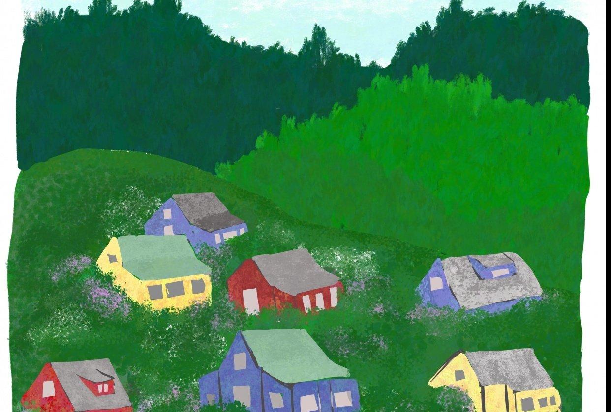 Hillside Village - student project