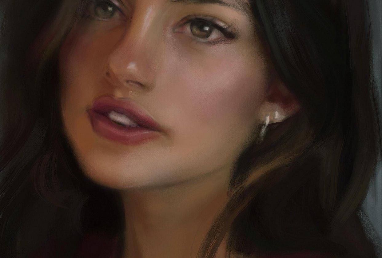 Portraits - student project