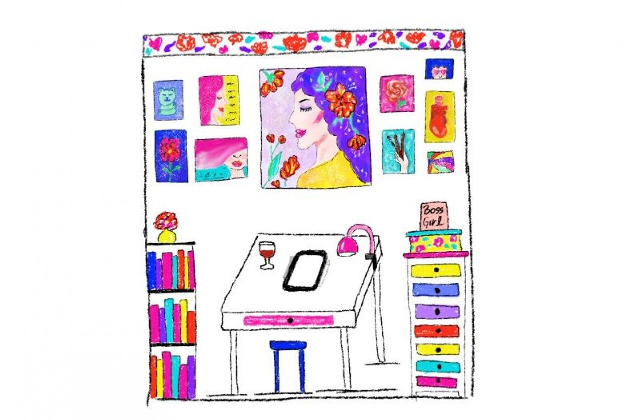 My Dream Studio - student project