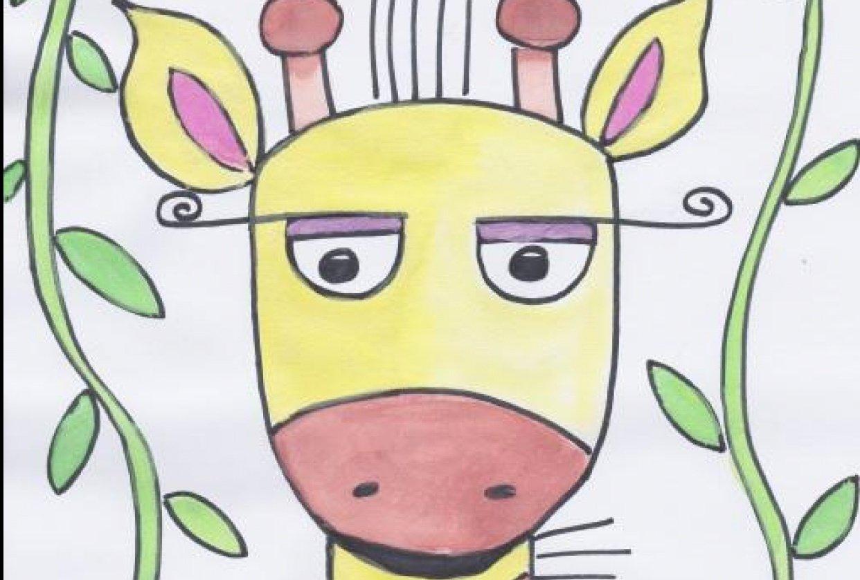 Jolly Giraffe - student project