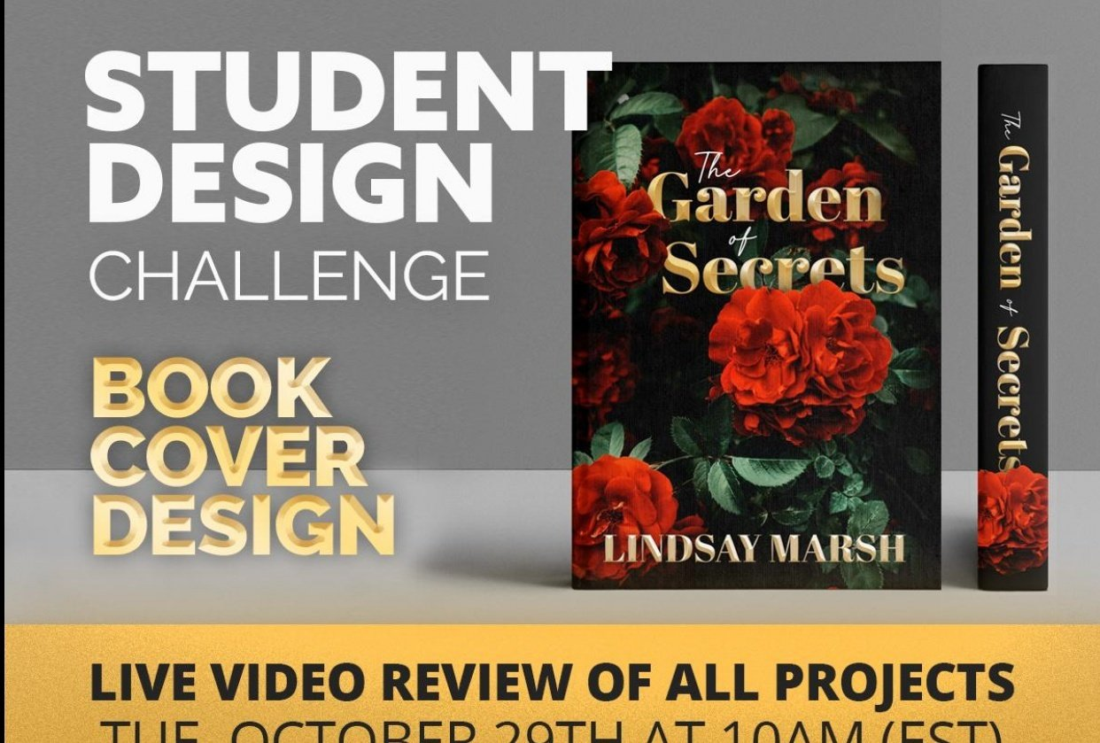 Design A Book Cover Student Design Challenge! - student project