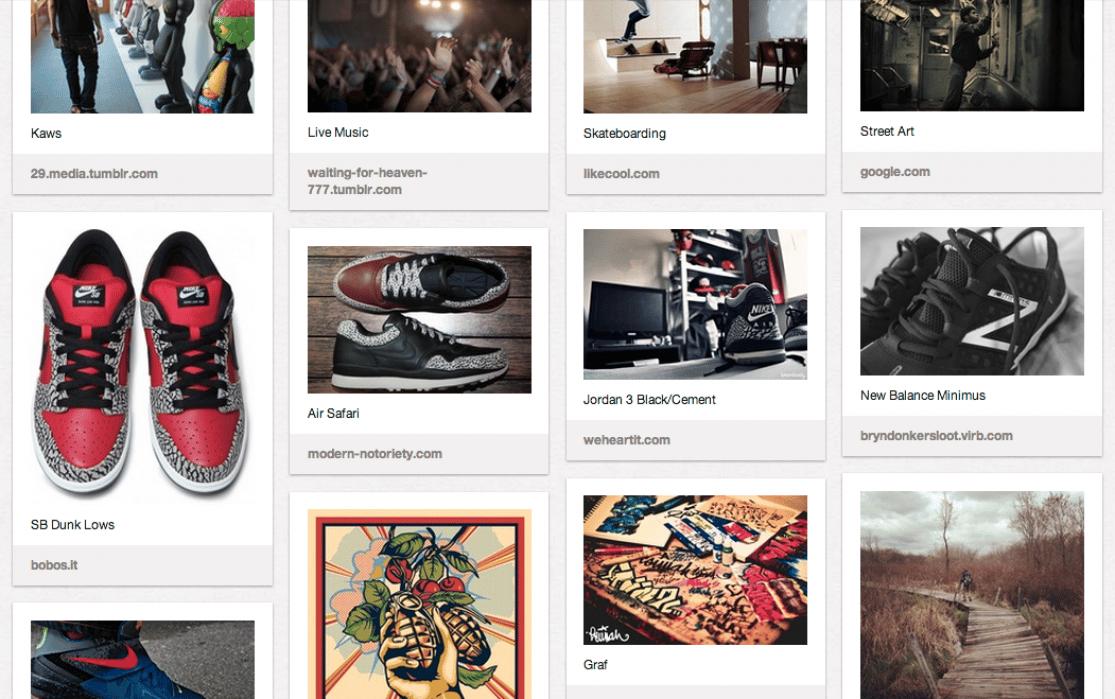 Sneakerology Narrative - student project