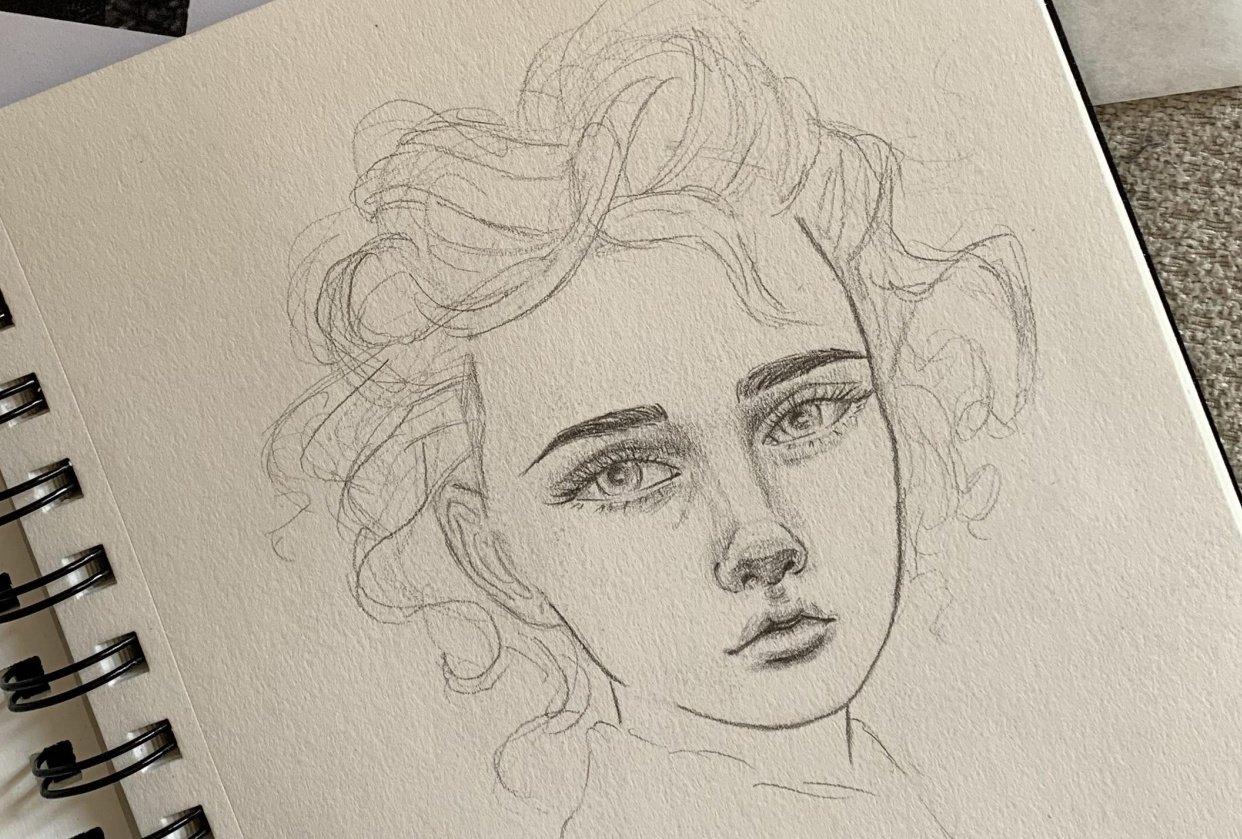 Portrait Mimicry Sketch - student project