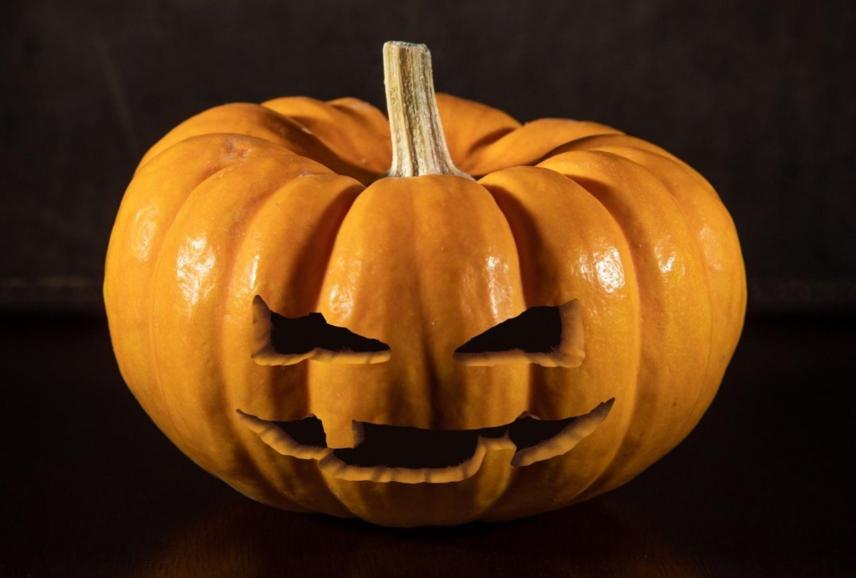 Happy Halloween! Let's carve something :) - student project