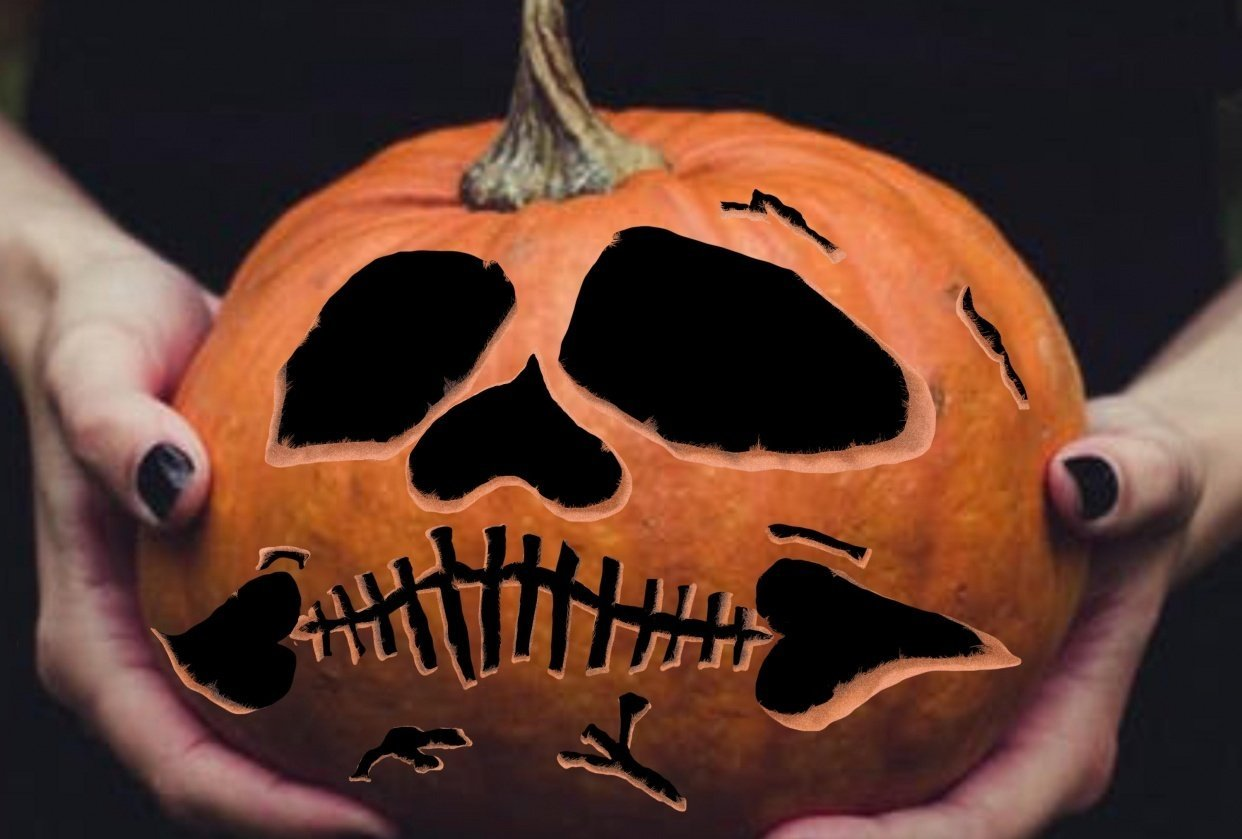 Carved Pumpkin - student project