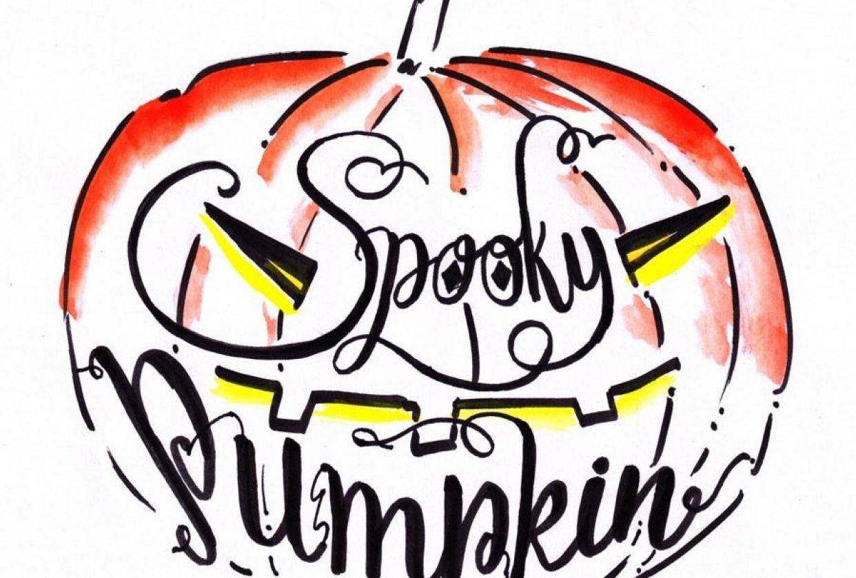 Spooky Pumpkin - student project