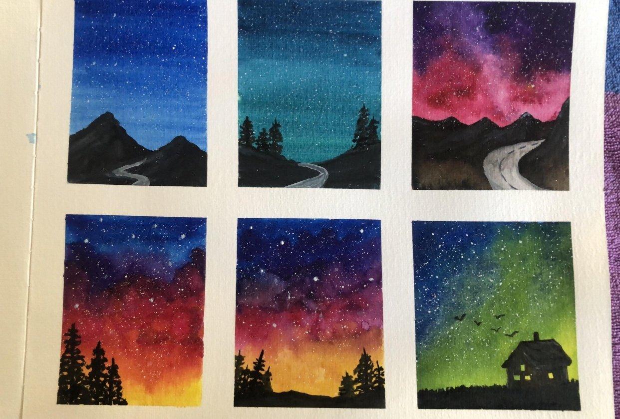 Mini Galaxies - student project
