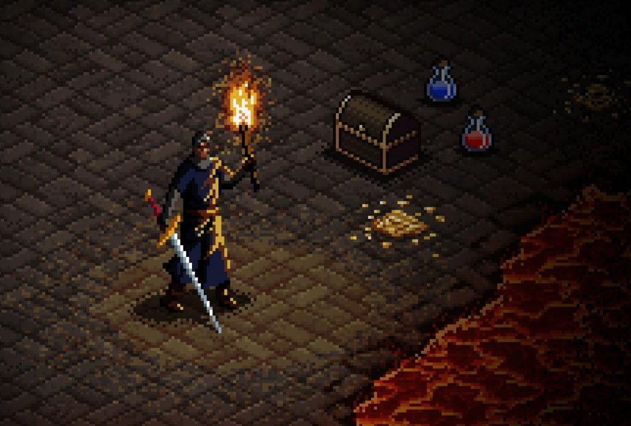 Diablo, from the SNES Era - student project