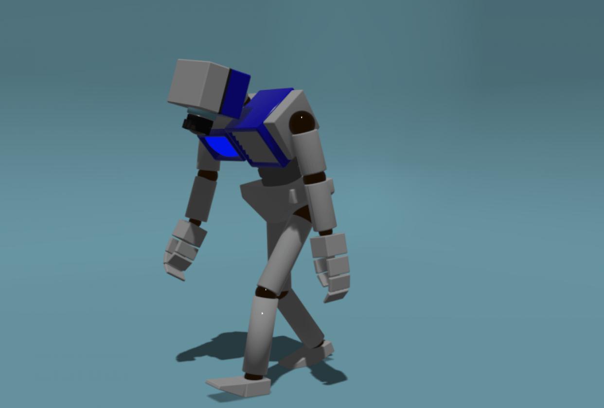 Sad robot - student project