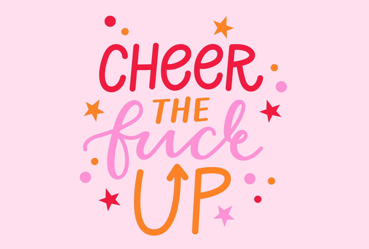 Cheer The F*** Up - student project