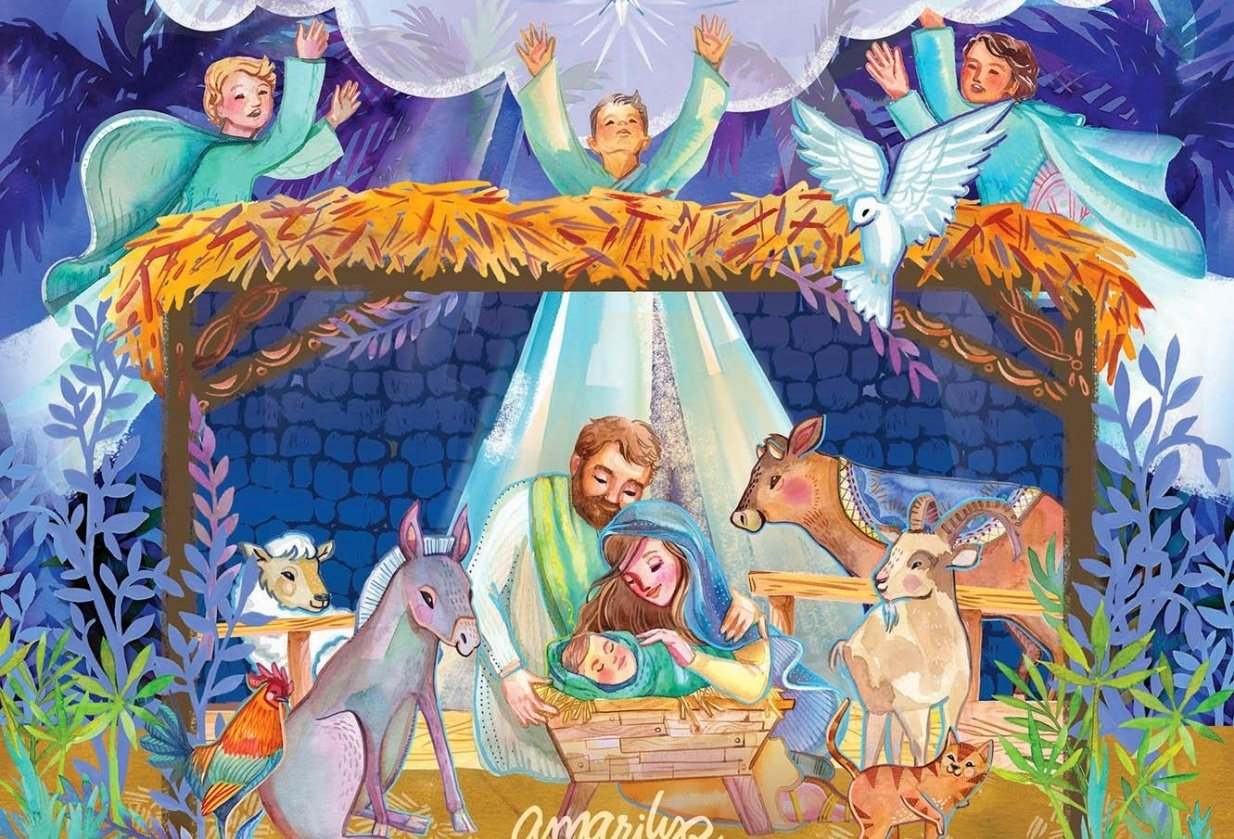 Pop-Up Nativity Book! - student project