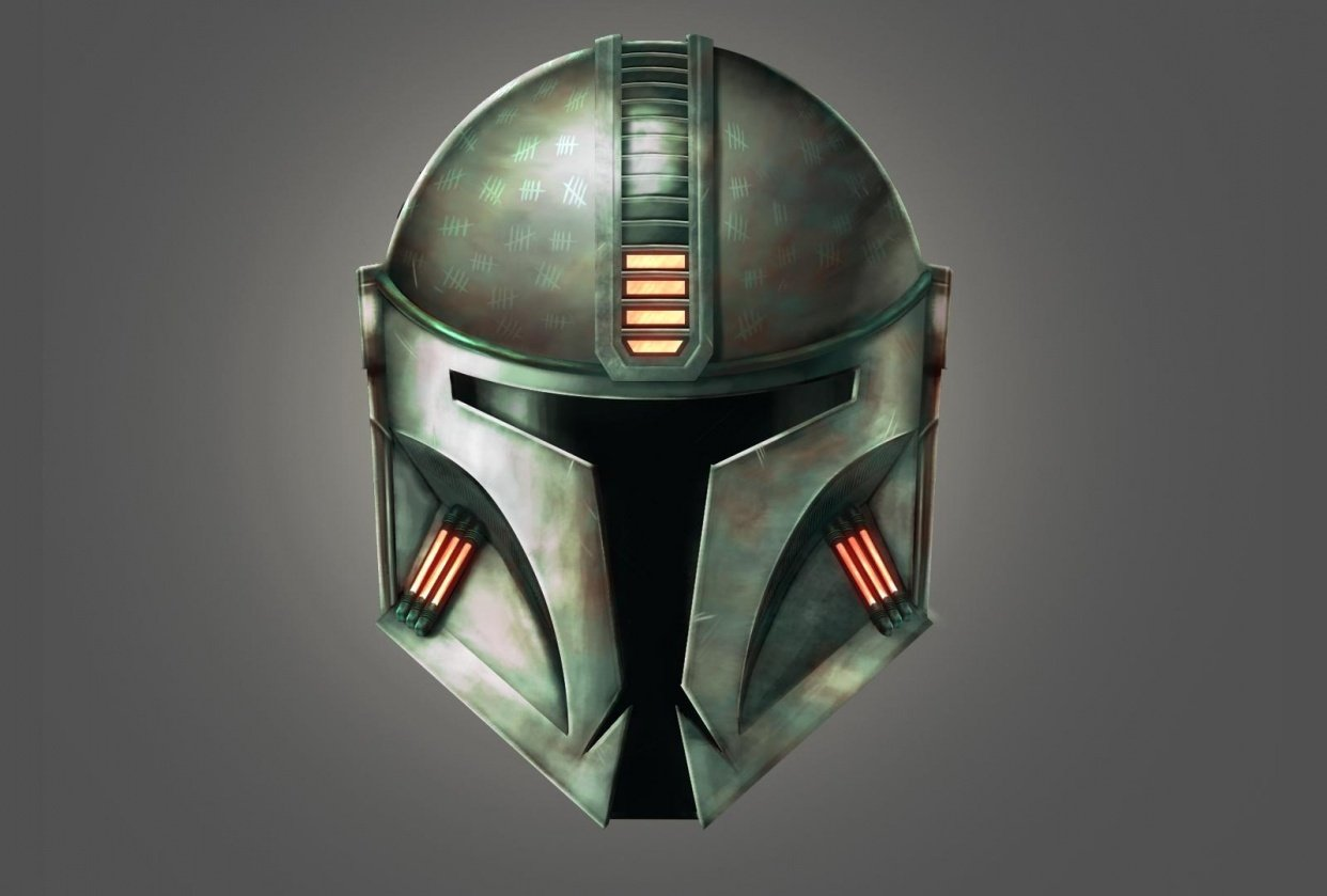 Mandalorian Helmet Concept - student project
