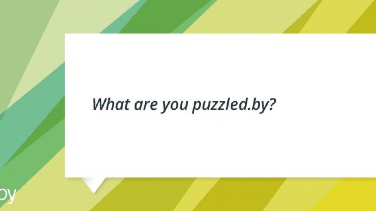 Puzzled.by - student project