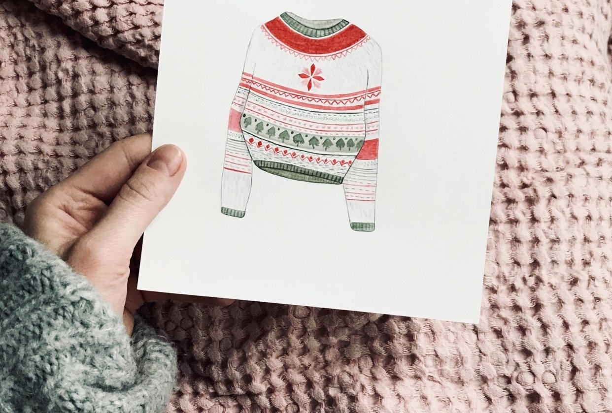 Christmas patterns - student project