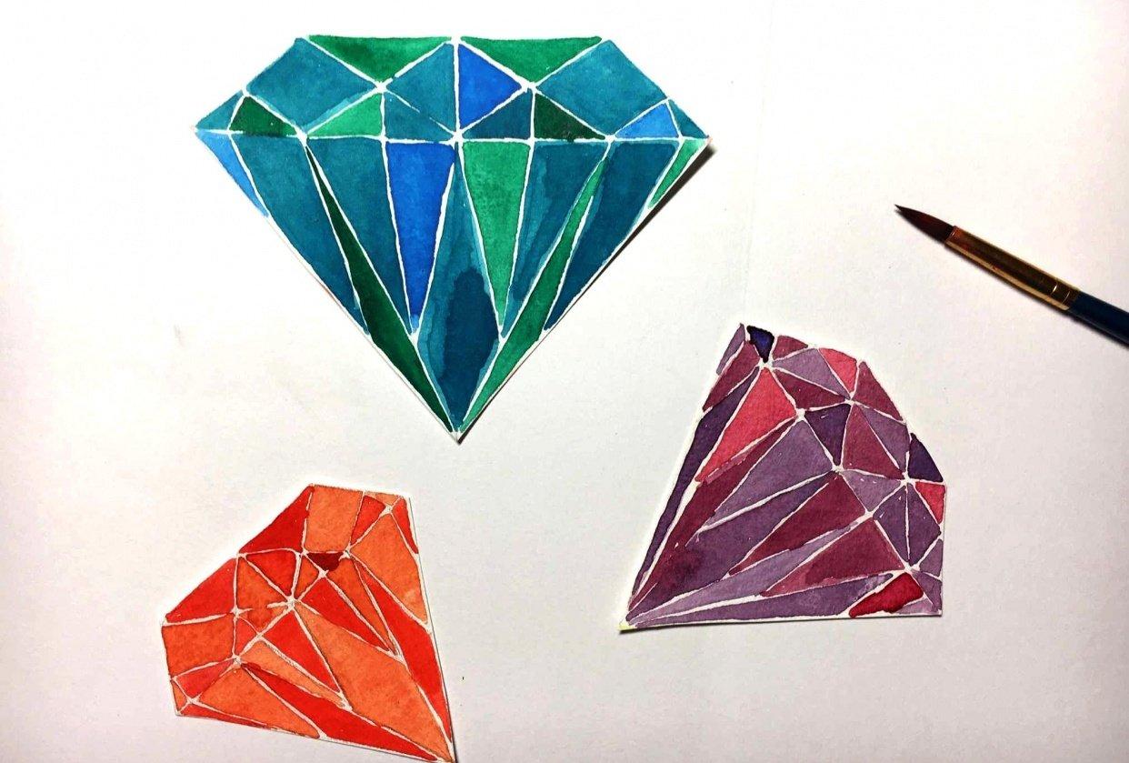3 diamonds - student project