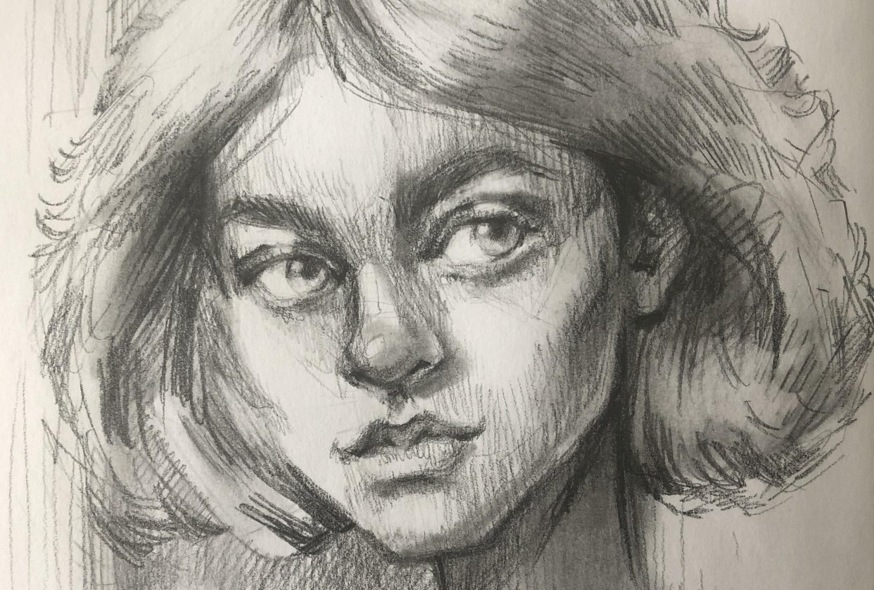 I love Portraiture! - student project
