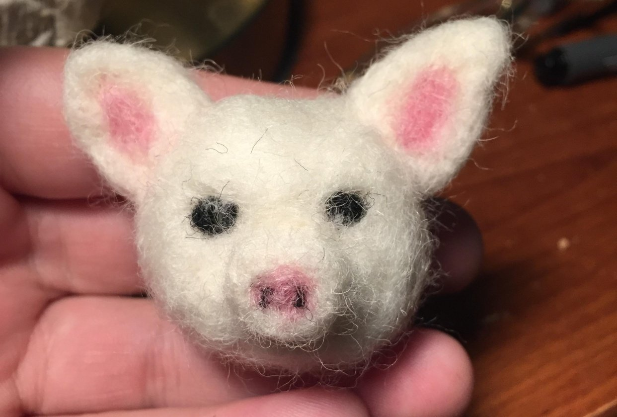 Little pig!! :) - student project