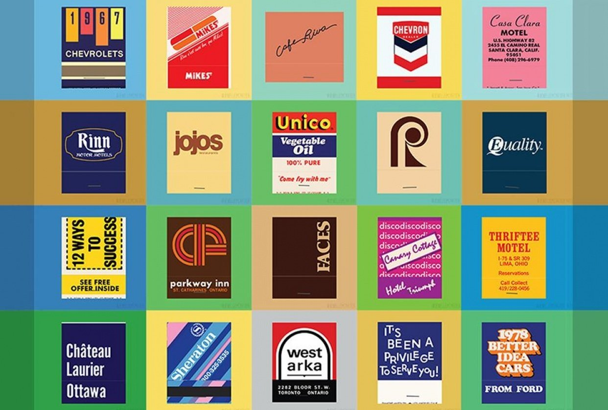 The Matchbook Covers - student project