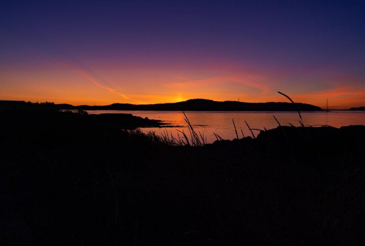 Sunset- L'etete, NB, Canada - student project