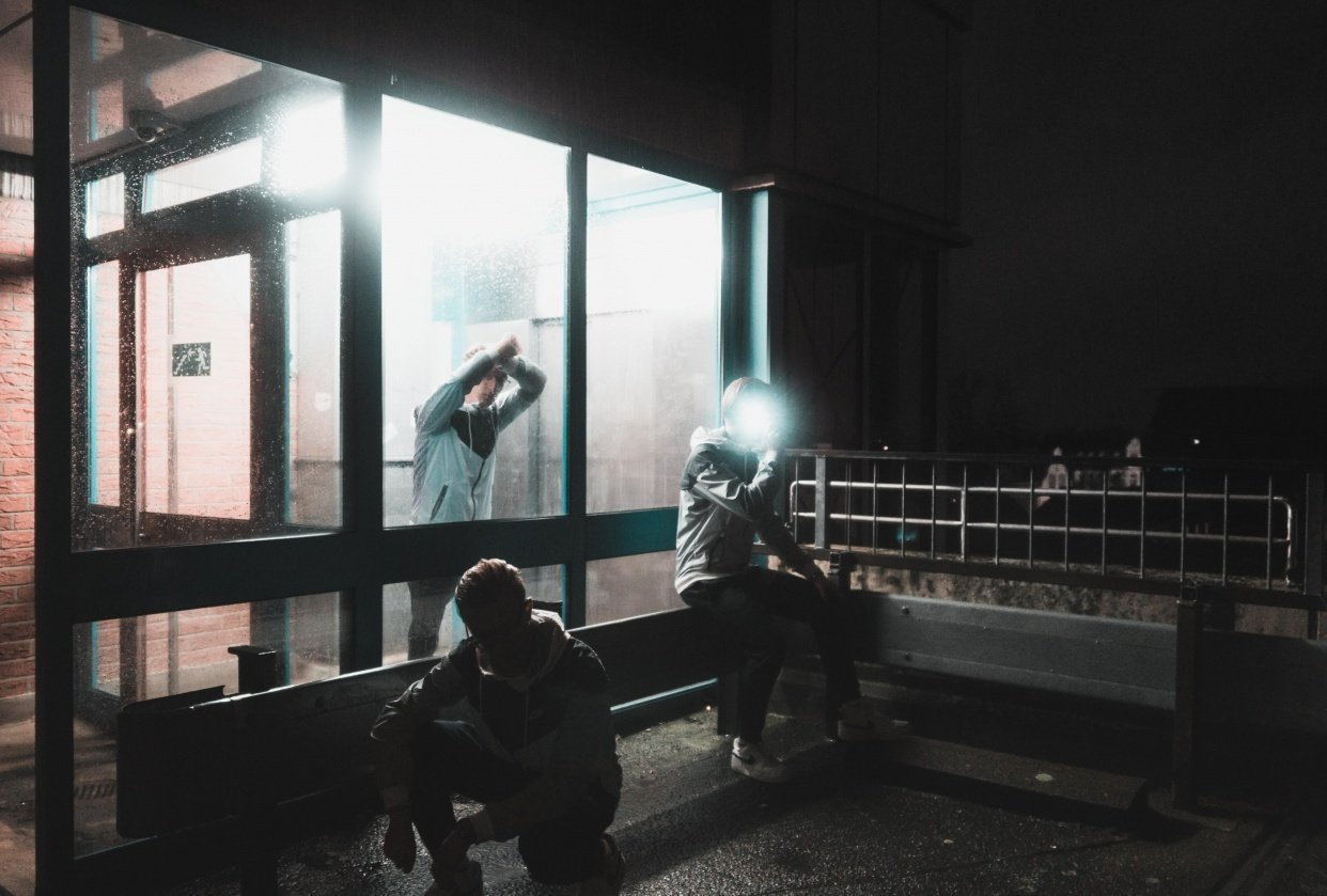 Nighttime Photoshooting - student project