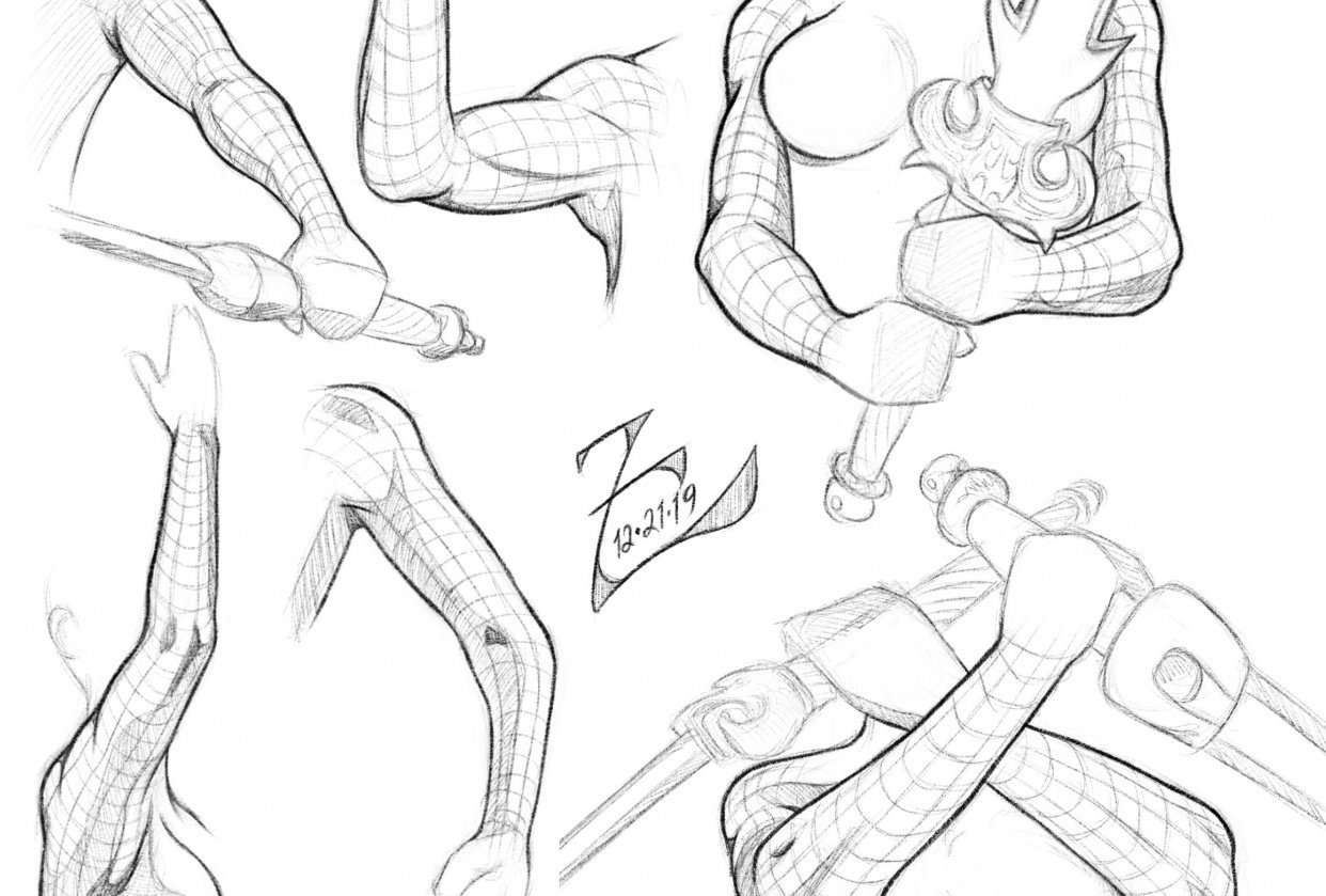 Female Arm Study - student project