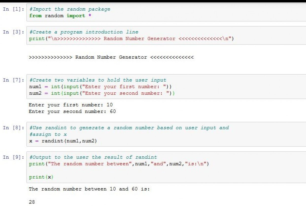 Python Basics Class Project - student project