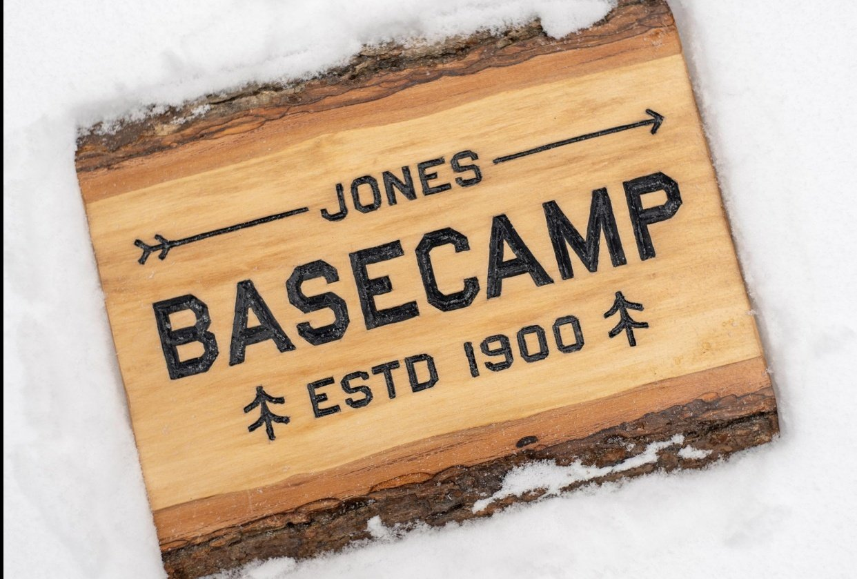 BASECAMP Sign - student project
