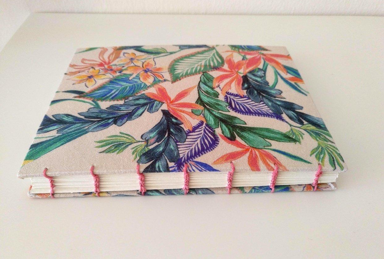 Coptic stitch sketchbook - student project