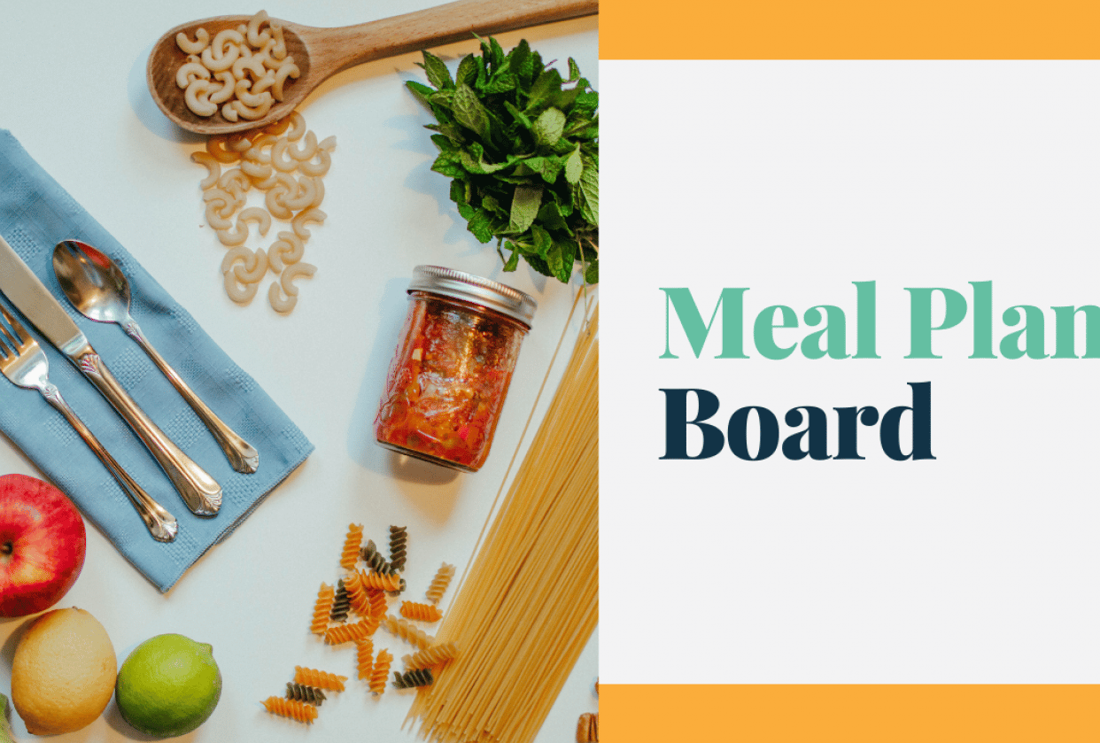 Our visual meal plan - student project