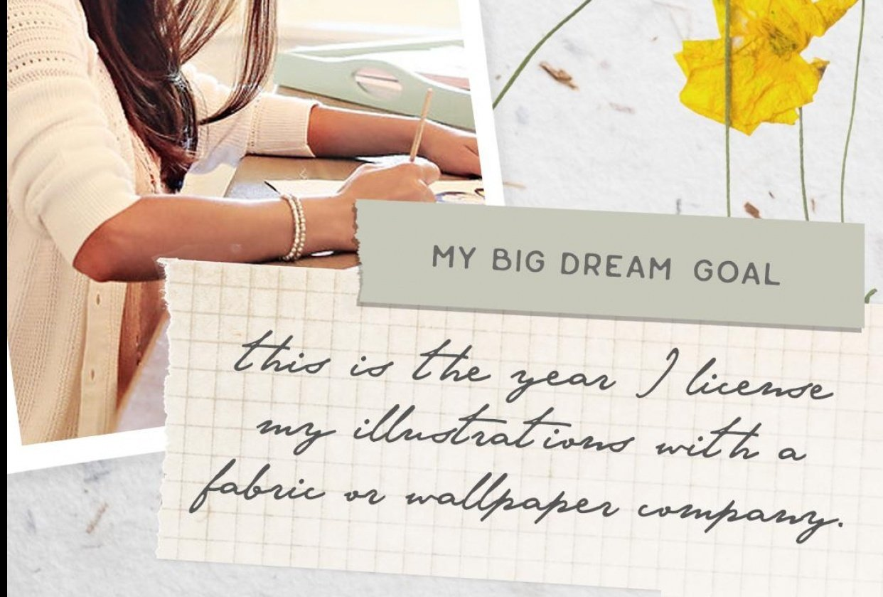 My Big Dream Goal - student project