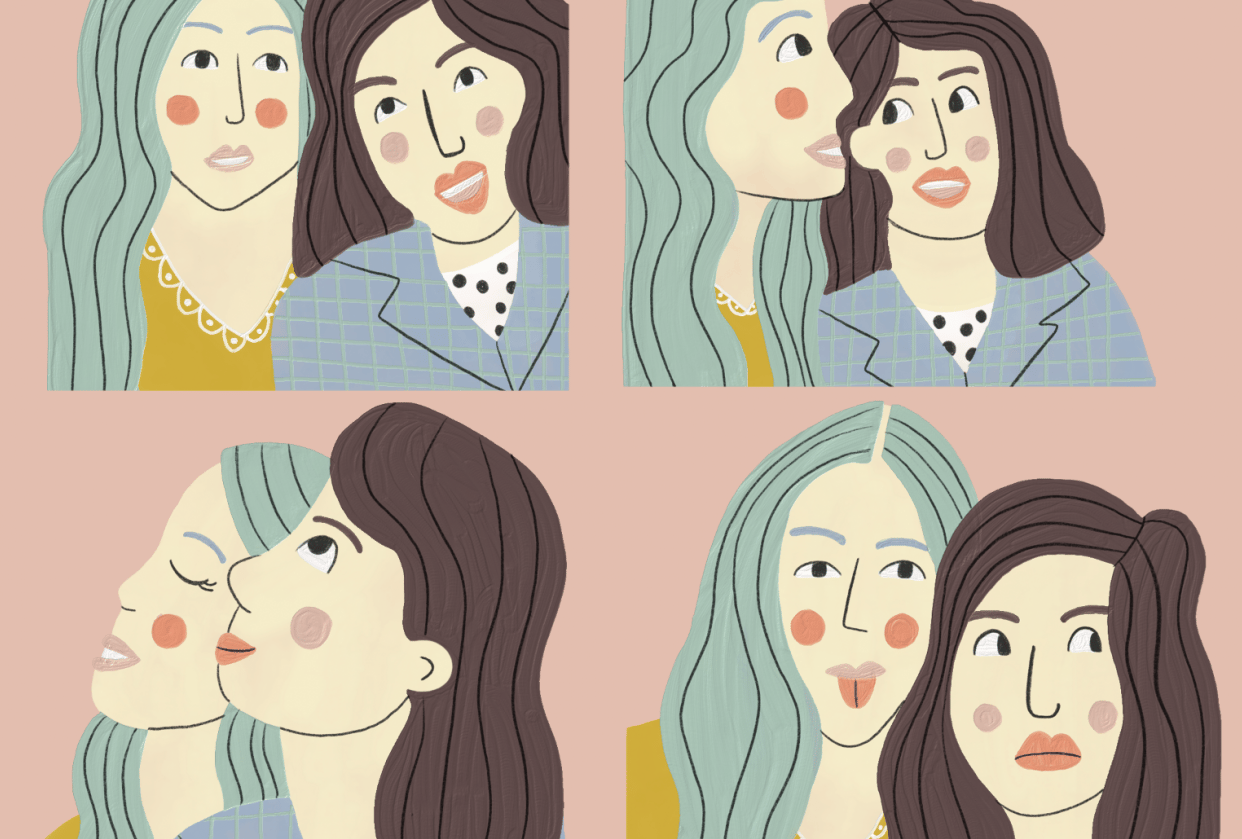 Fresco Portraits - student project