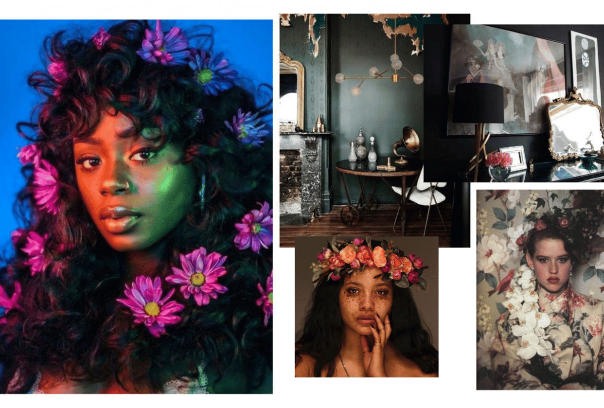 Project Moodboard - student project