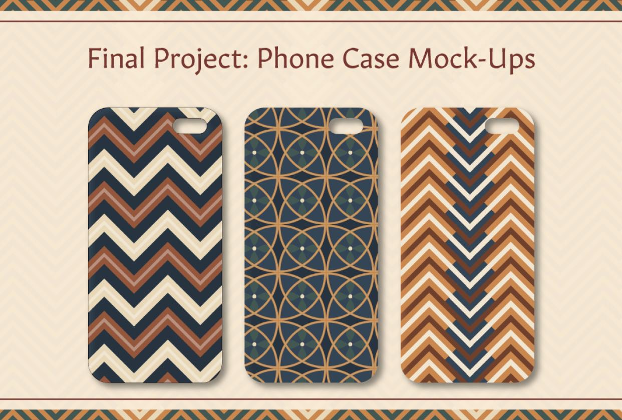 Pattern Mock Ups - student project