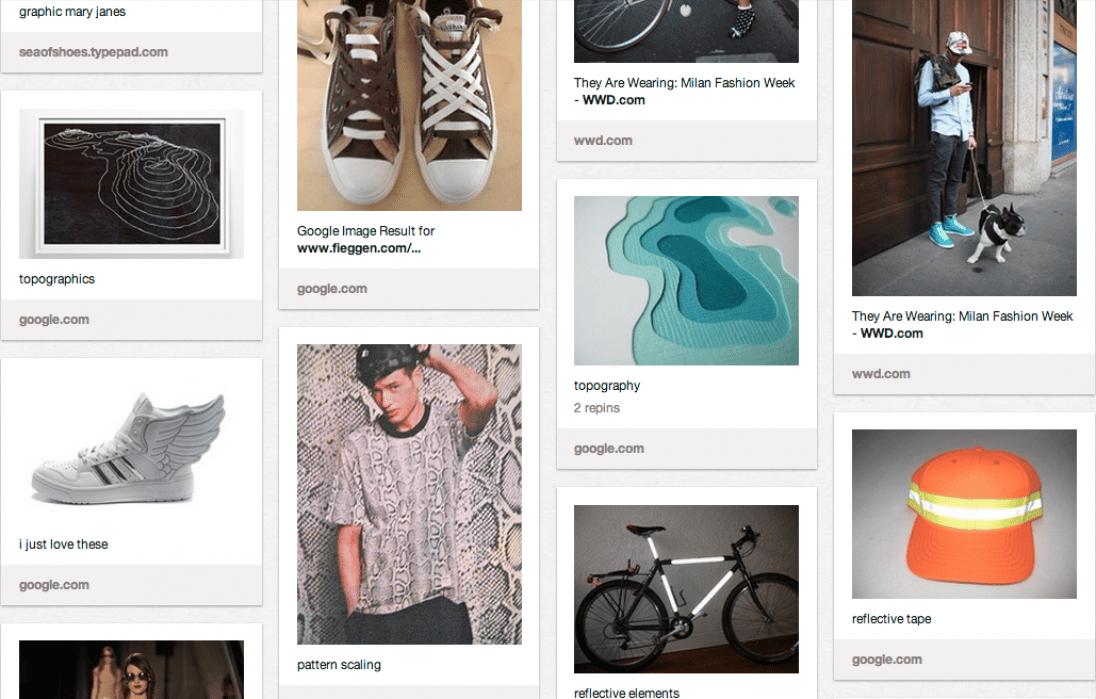 Sneakerology Brainstorm - student project