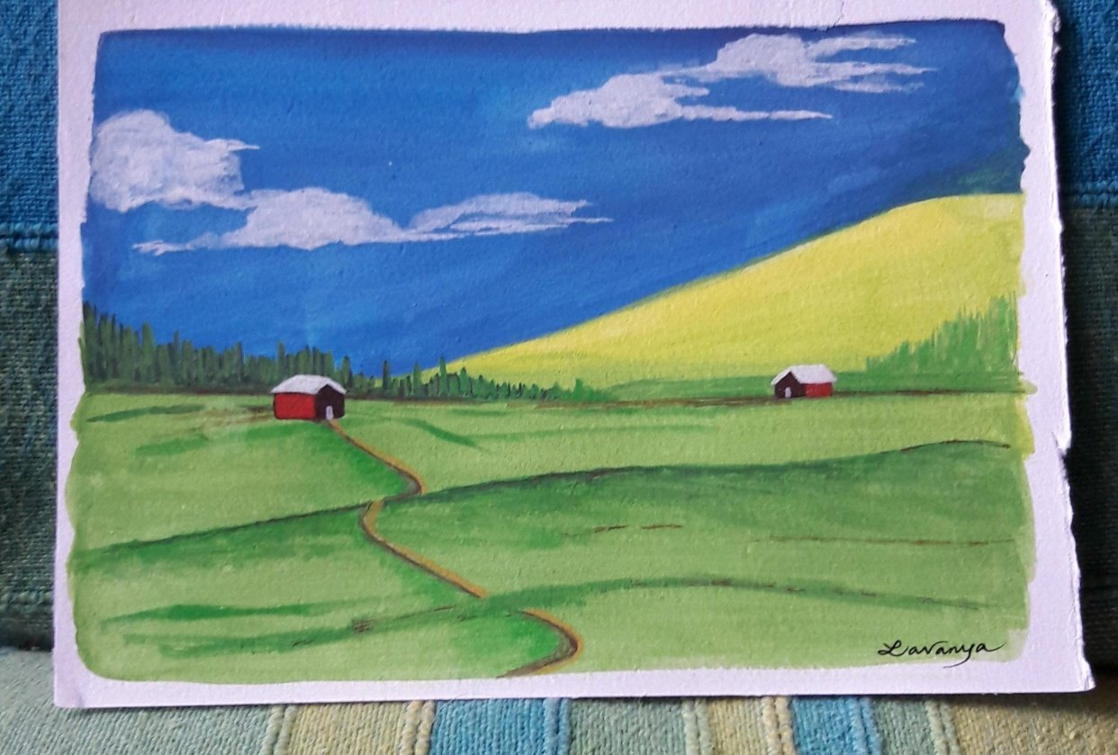 Gouache Goodness - student project