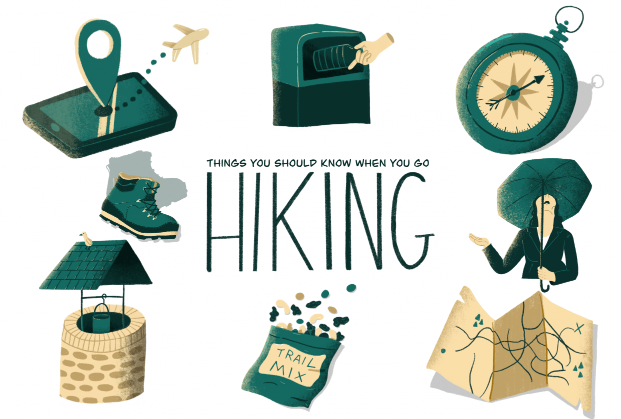 Things you should know when you go hiking - student project