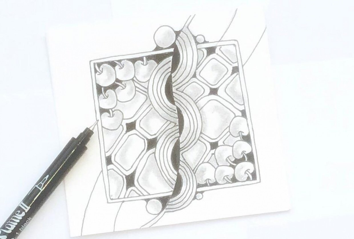 Zentangle - student project