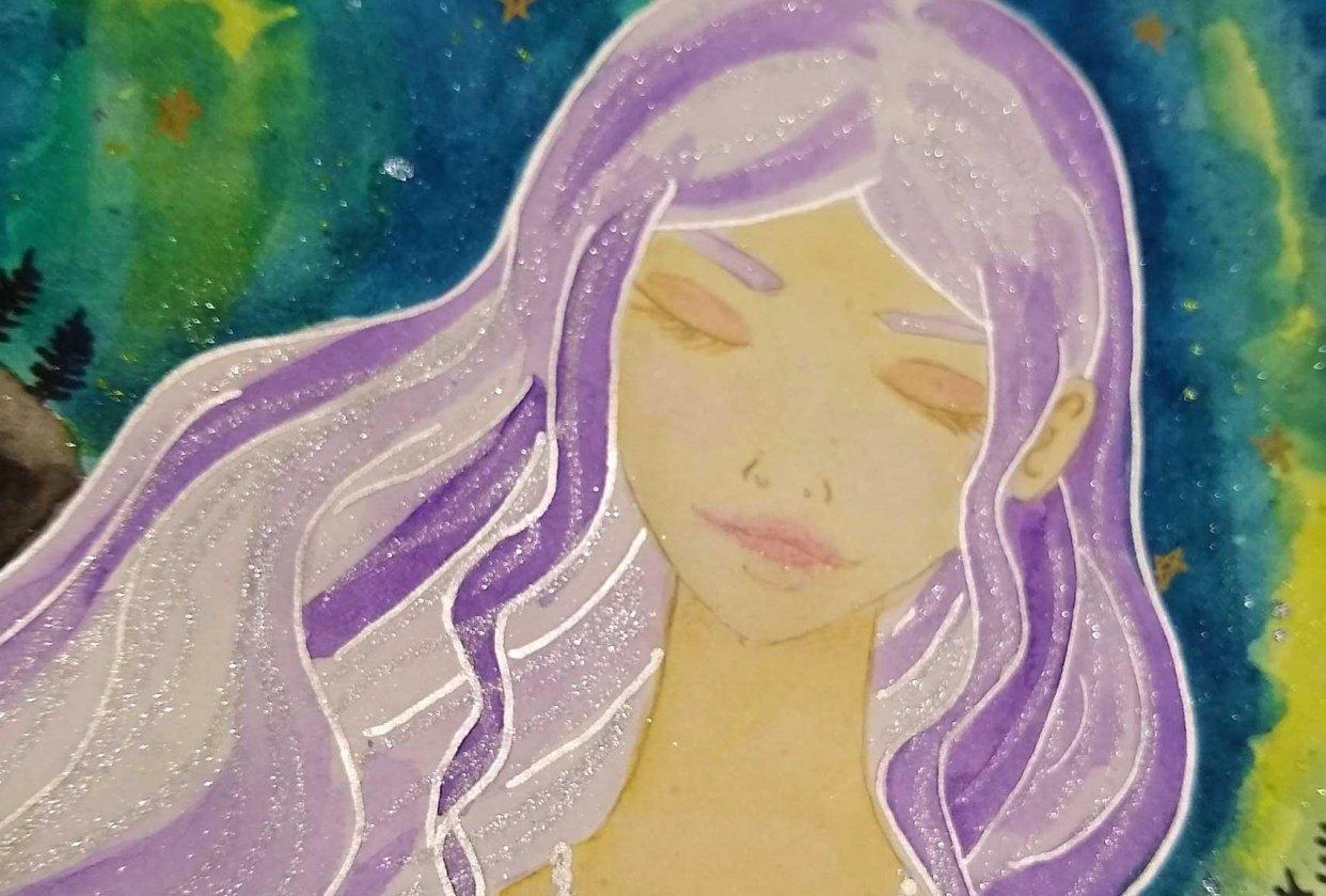 manga portrait - student project
