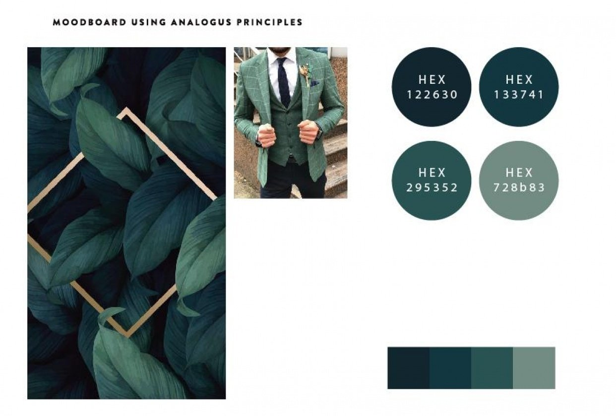 Moodboard - student project