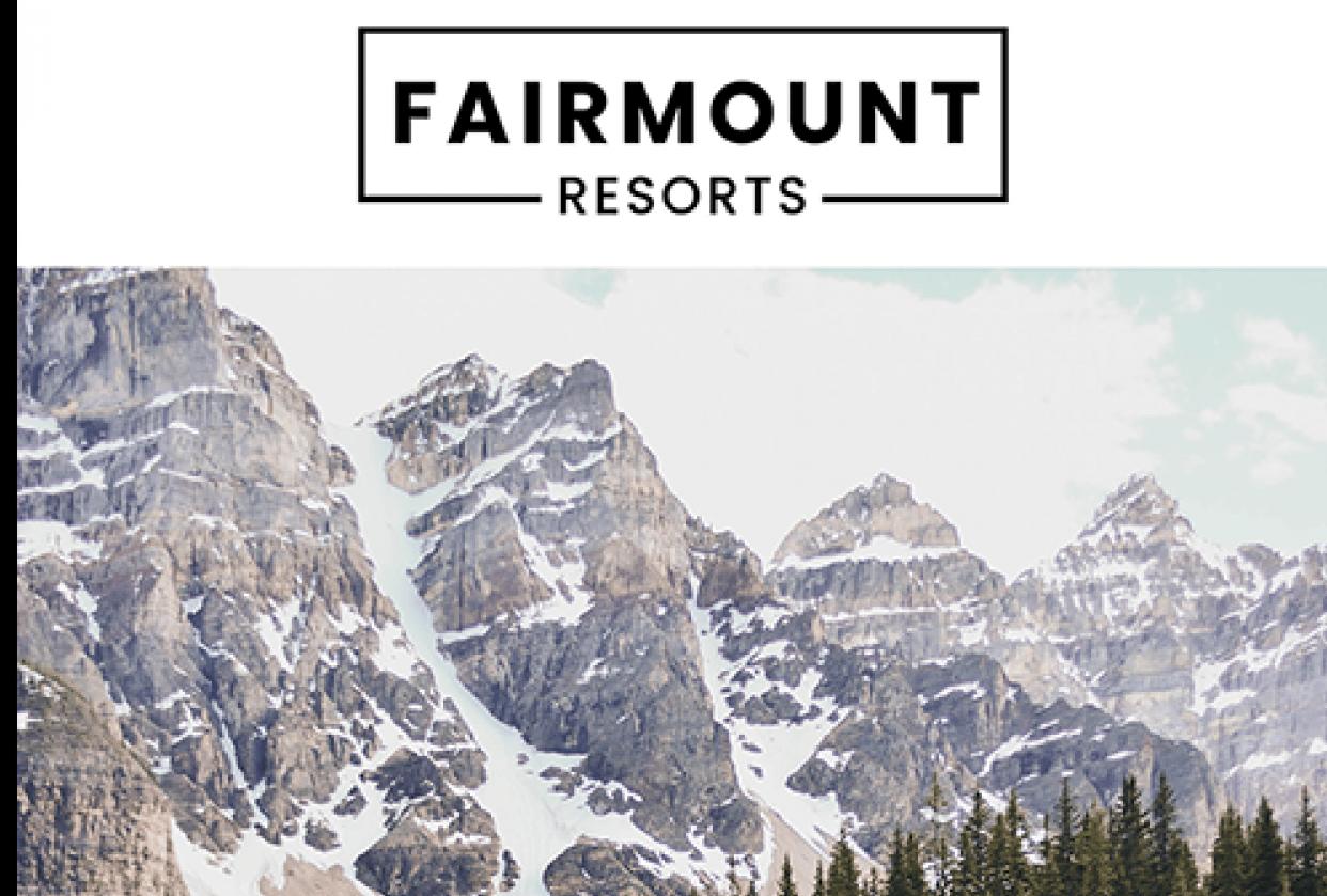 Fairmount Resort - student project