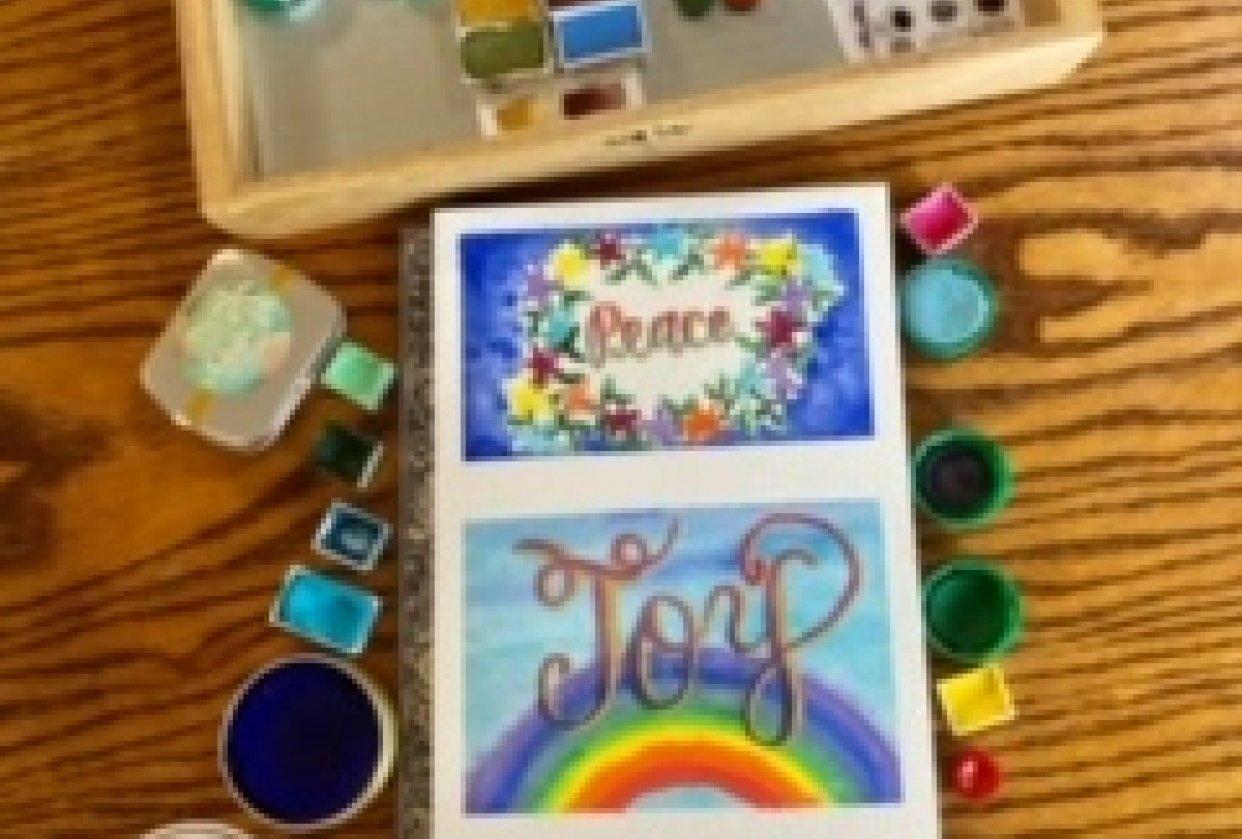 Peace, Joy, Love - student project