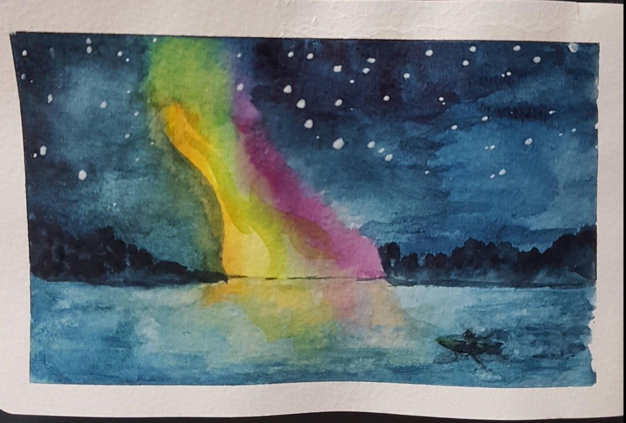 Northern Light from Sweden - student project