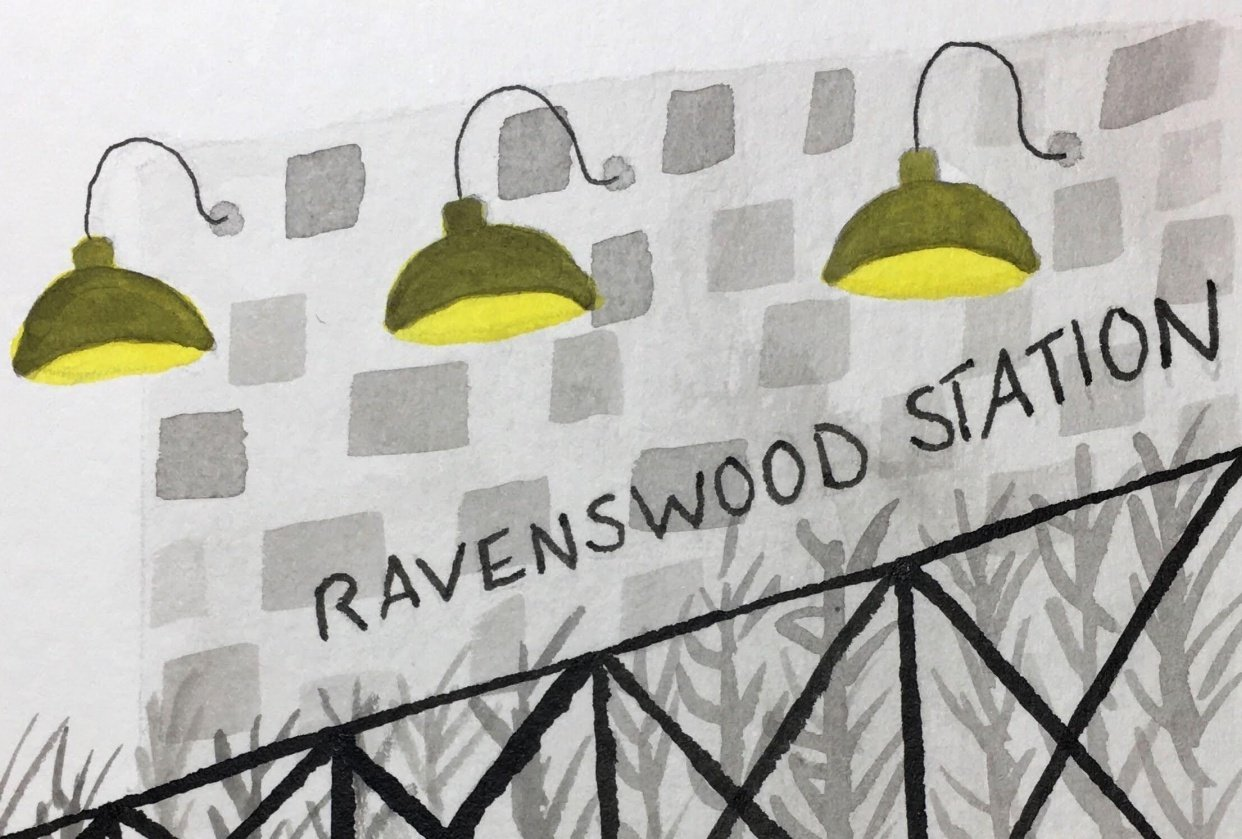 Ravenswood in Ink - student project