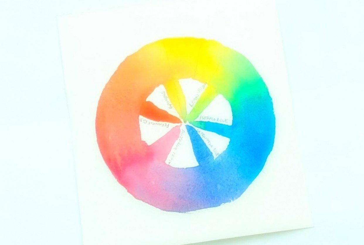 Quickie color wheel - student project