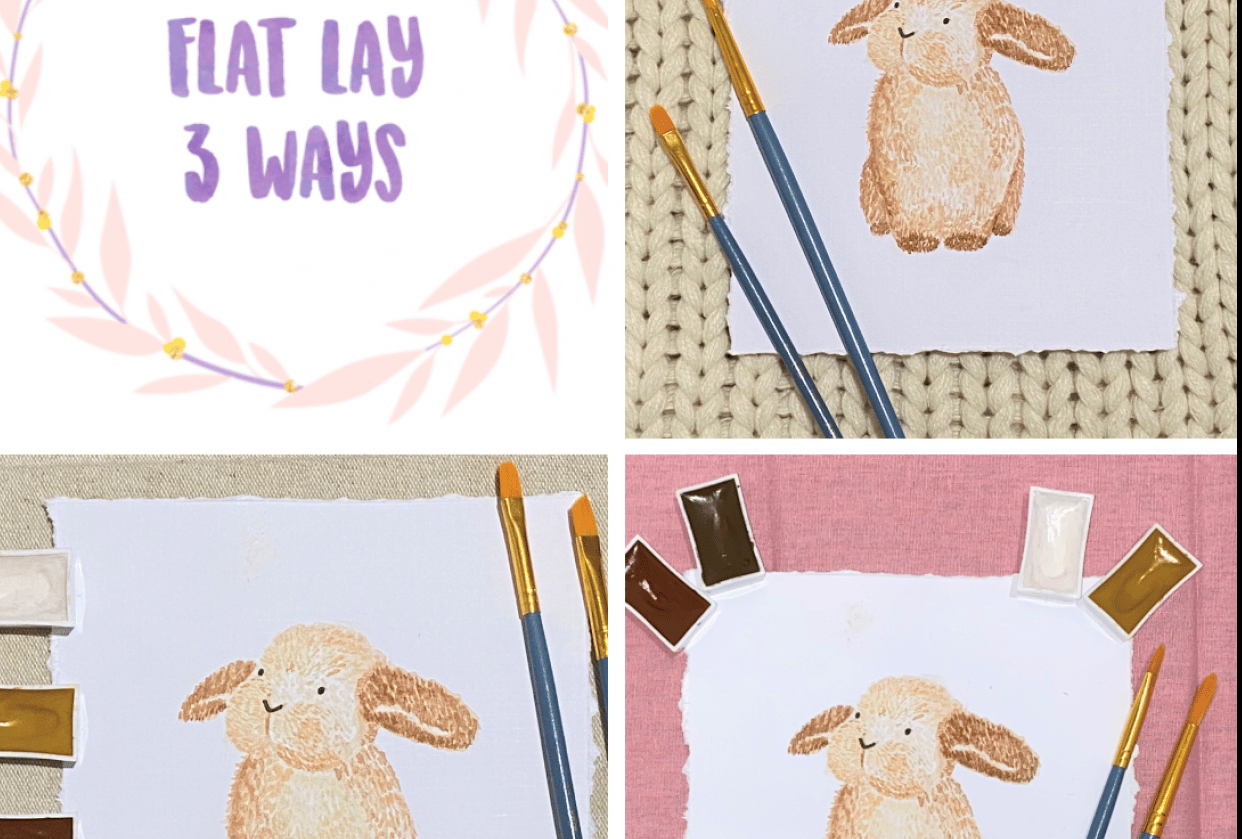 Flat Lay 3 Ways - student project